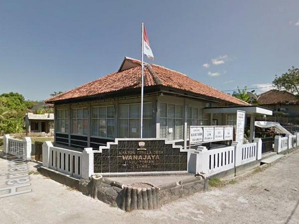 Kantor Desa Wanajaya (foto: Google Street View)