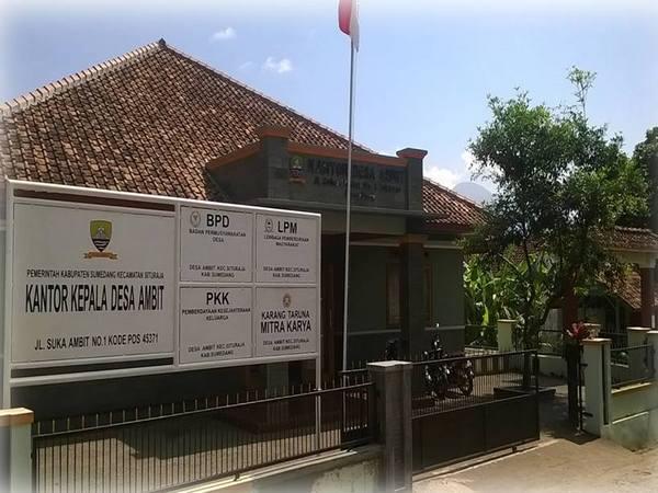 Kantor Kepala Desa Ambit (foto: facebook Desa Ambit)