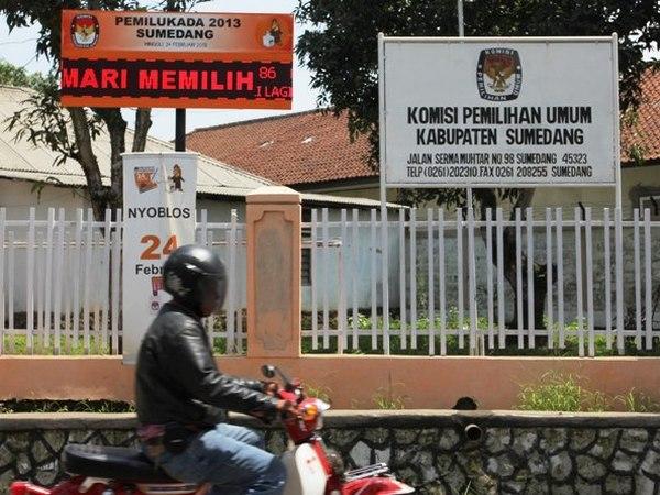 Kantor KPU Kabupaten Sumedang