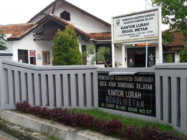 Kantor Kelurahan Regol Wetan (foto: g+ moch rohiman)