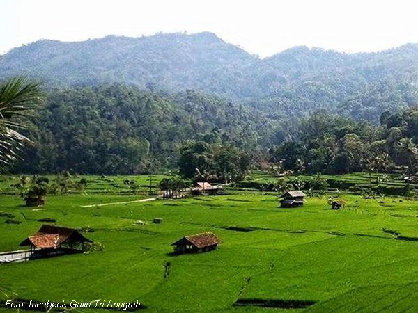 Akses jalan menuju ke Sagaramanik