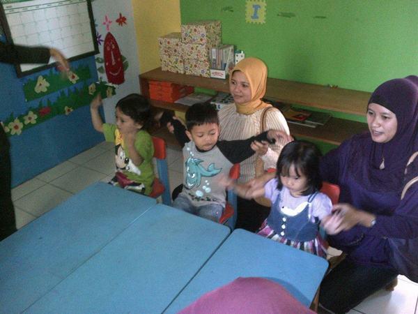 Salah satu kegiatan di dalam kelas