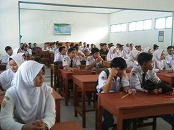Kegiatan kelas SMK KORPRI Sumedang