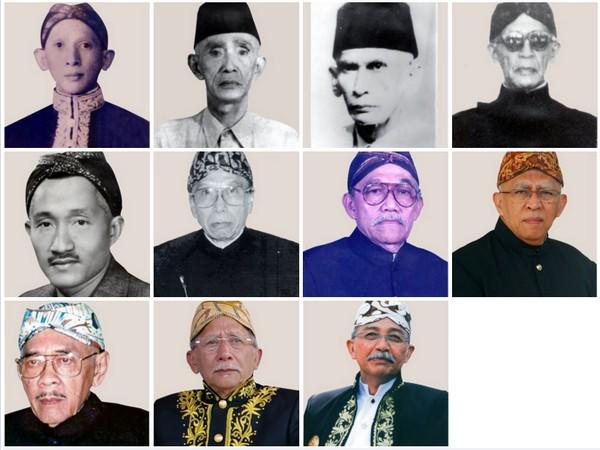 Ketua Yayasan Pangeran Sumedang (YPS) dari masa ke masa
