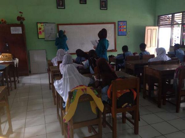 KKM mahasiswa STKIP Sebelas April (foto: twittter)