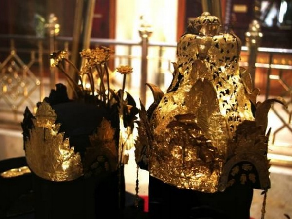 Salah satu koleksi Museum Prabu Geusan Ulun: Mahkota Binokasih