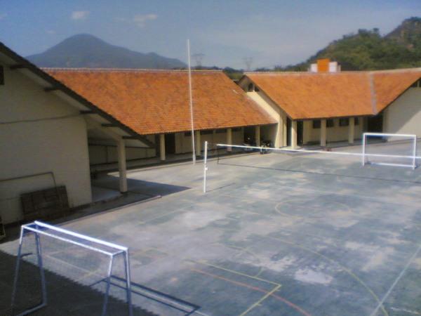Kompleks sekolah SMK Bhakti Nusantara Sumedang