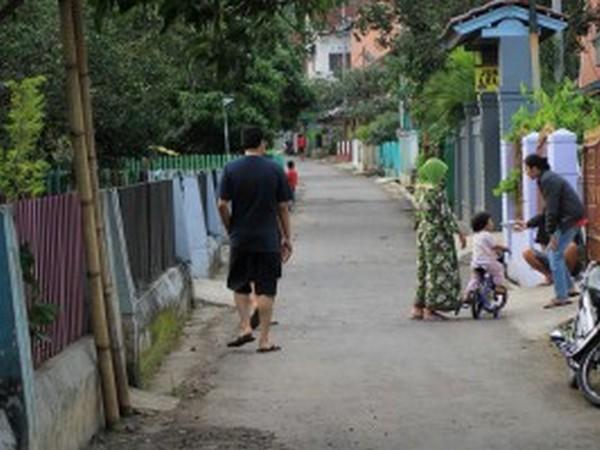 Suasana perkampungan di Desa Cijambe (foto: KKNM Unpad Cijambe)