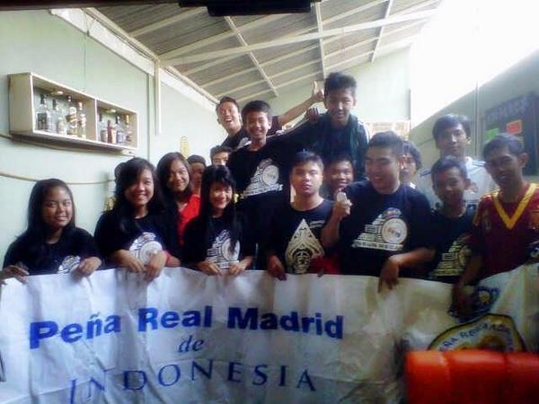 Kopdar (kumpul bersama) penggemar Real Madrid Sumedang