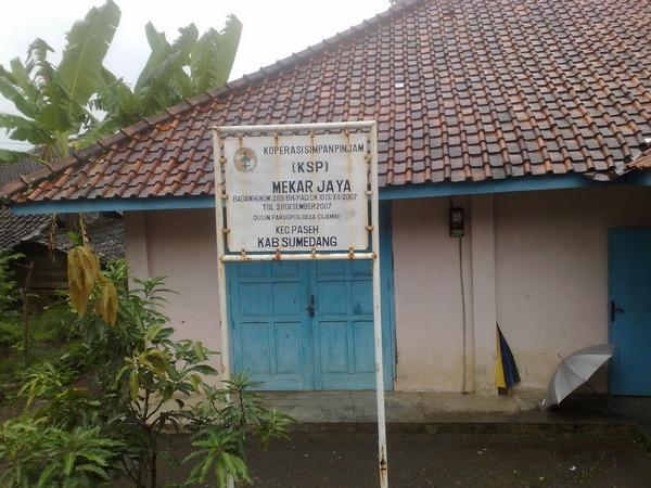 Koperasi Simpan Pinjam KSP Mekar Jaya (foto: KKNM Unpad Cijambe)