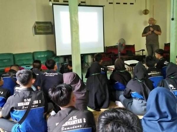 Kunjungan industri SMK Muhammadiyah 2 Sumedang
