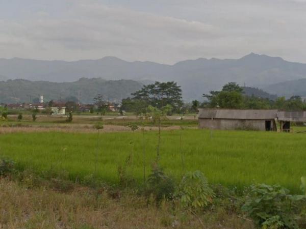 Lahan pertanian (foto: Google Street View)