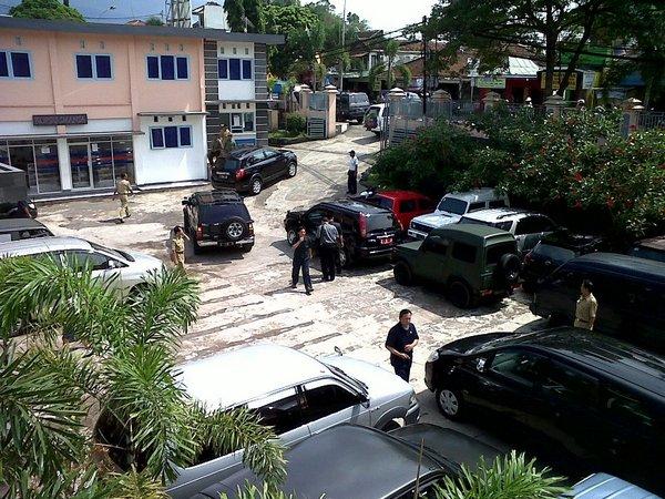Lahan parkir SMA Negeri 1 Sumedang (foto: facebook)