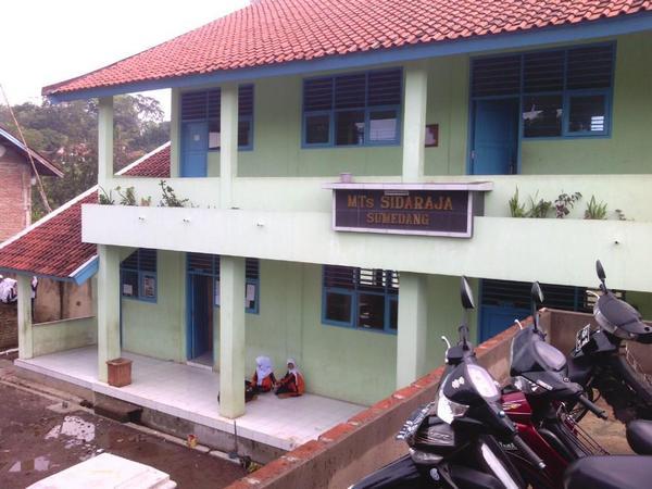 Bangunan sekolah MTs Ma