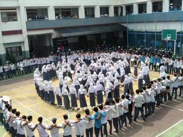Kegiatan luar kelas SMK Pasundan Jatinangor