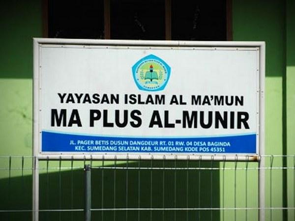 Madrasah Aliyah Plus Al Munir (foto oleh blog MA Plus Al-Munir)