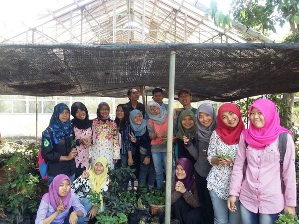 Mahasiswa Fakultas Pertanian (foto: Unwim)