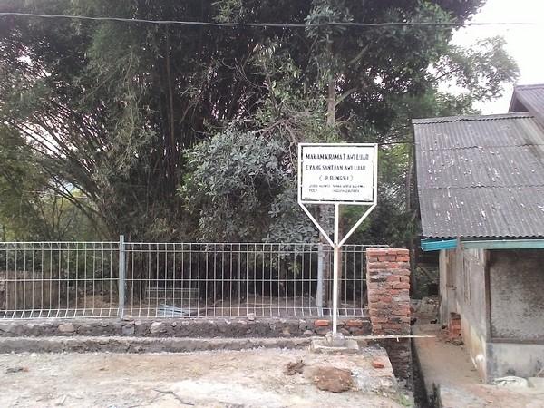 Makam keramat Santowaan Awiluar (foto: Desa Ciuyah)