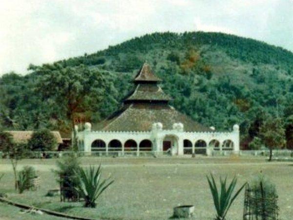 Keadaan Masjid Agung Sumedang dekade 1960-an