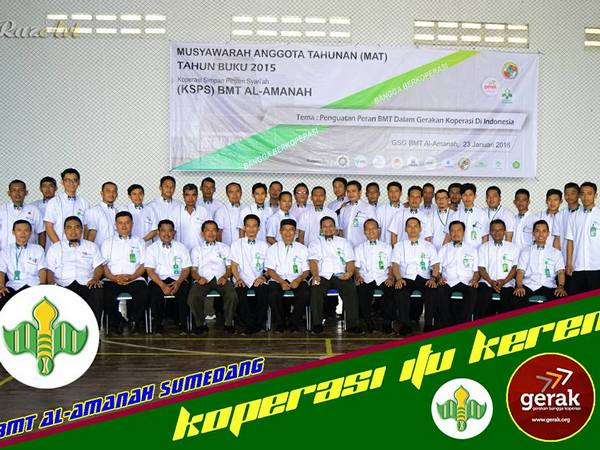 Musyawarah Anggota Tahunan BMT Al-Amanah (foto: facebook BMT Al-Amanah Sumedang)