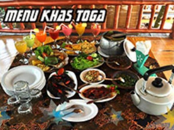 Menu makanan khas Kampung Toga