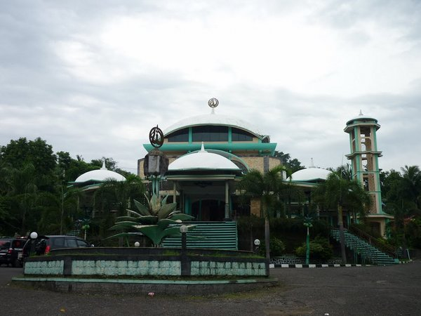 Bangunan Masjid Raya Nyalindung