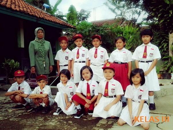 Sebagian murid sekolah SD Negeri Cibunar (foto: SD Negeri Cibunar)