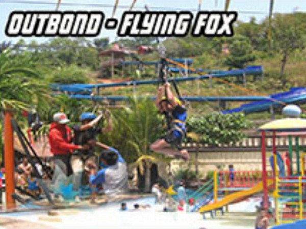 Arena Outbond dan flying fox