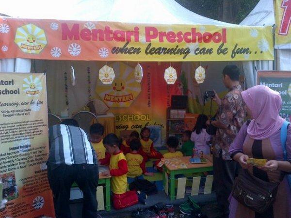 Stand Mentari Preschool di pameran