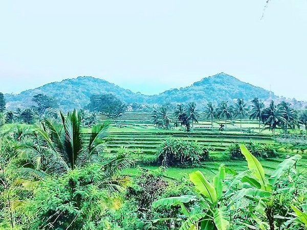 Panorama alam wilayah Desa Cibeureum Wetan (foto: Instragram @ade_ewon)