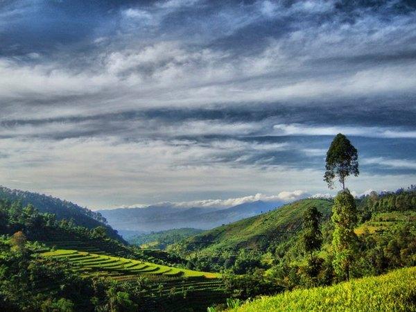 Panorama alam Desa Cijambu (foto: facebook)