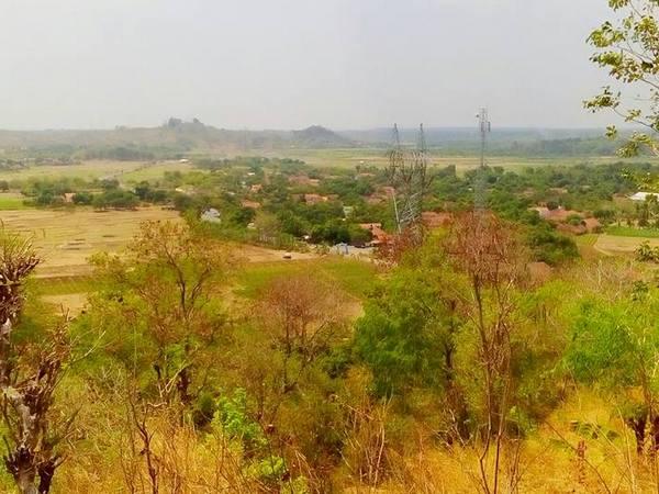 Panorama alam Desa Darmawangi (foto: grup facebook Lembur Kuring Darmawangi)