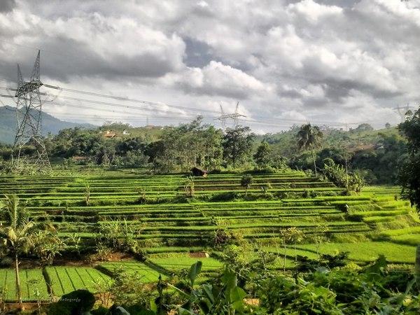 Panorama alam Desa Cigendel (foto: facebook Ghinanz Kharisma)