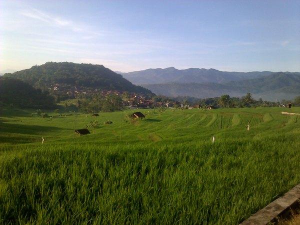 Panorama alam Desa Ciuyah (foto: Desa Ciuyah)