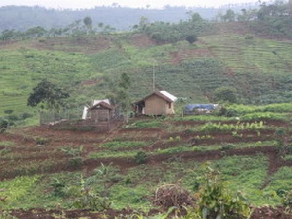 Panorama alam Desa Ganjaresik (foto: KKNM Unpad Ganjaresik)