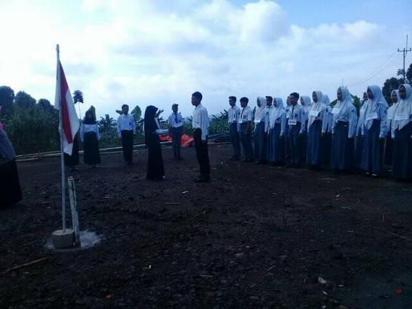 Pelantikan di SMK Barokah Bhakti Rancakalong