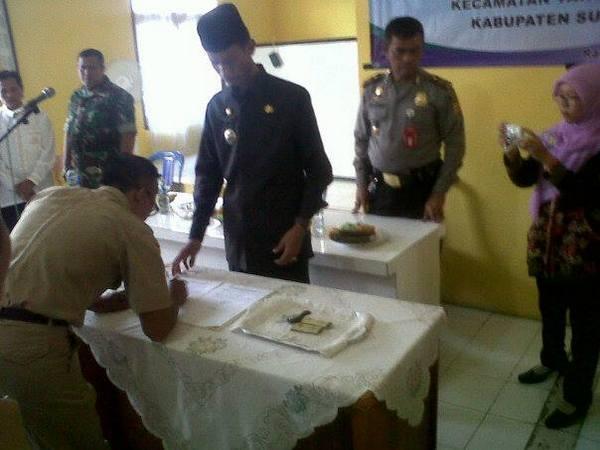 Pelatikan pejabat Kepala Desa Banyuasih tahun 2015 (foto: internet)