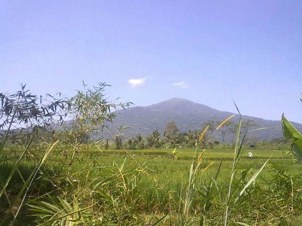 Pemandangan alam di Desa Panyindangan (foto: facebook)