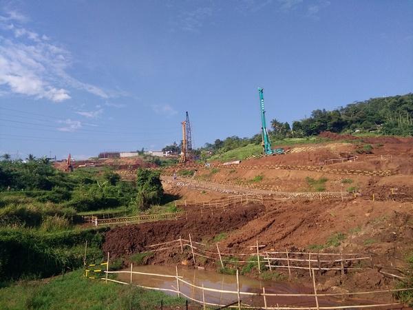 Lokasi pembangunan jalan tol (foto: facebook.com)