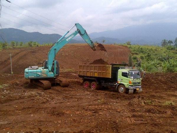 Pembangunan tol Cisumdawu (foto: facebook Qoesya Popo