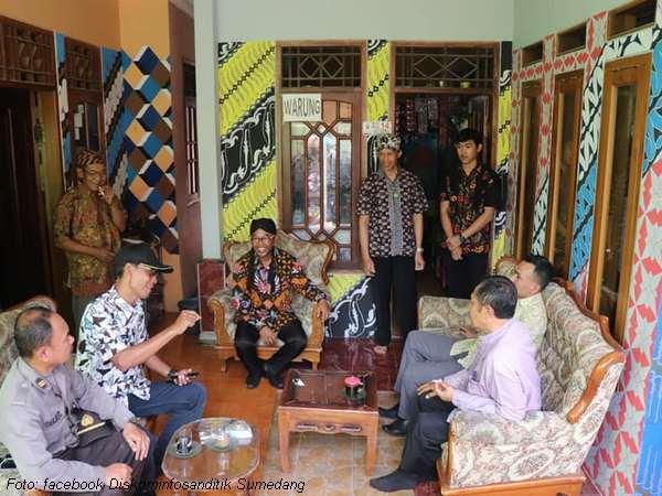 Peluncuran Kampung Batik