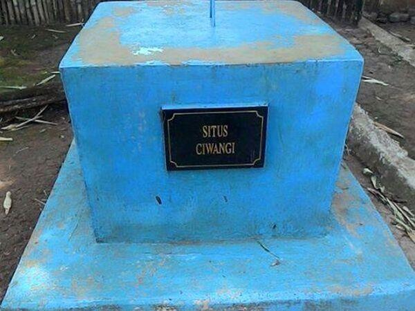 Penanda Situs Ciwangi (foto: facebook)