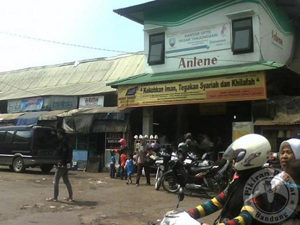 Bangunan Pasar Tanjungsari (foto: PRLM)