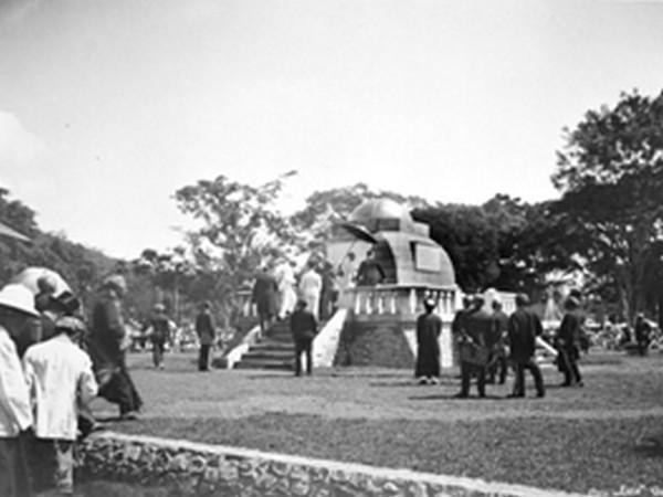 Peresmian Monumen Lingga tahun 1922