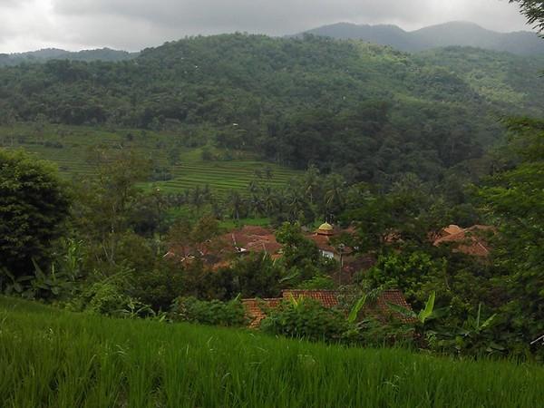 Perkampungan di Desa Sundamekar (foto: facebook Desa Sundamekar)