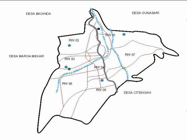 Peta Desa Cipancar (gambar: Desa Cipancar)