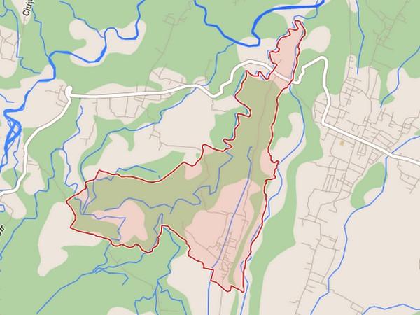 Peta Desa Ambit (gambar oleh Google Maps)