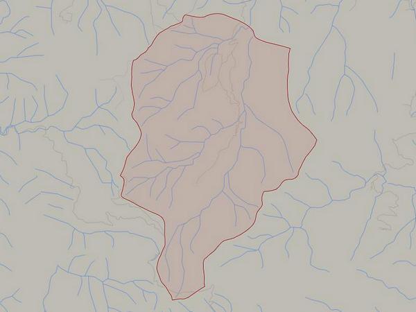 Peta wilayah Desa Bangbayang (gambar: Google Maps)