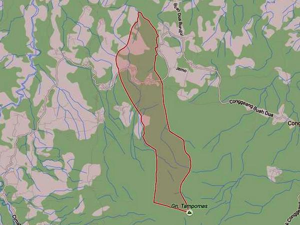 Peta Desa Bojongloa di Google Maps