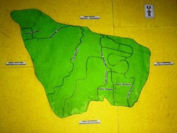 Peta kawasan Desa Ciawitali (foto KKNM Unpad 2012)